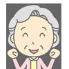 補聴器ユーザー(70歳女性)