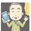 補聴器ユーザー(70歳男性)